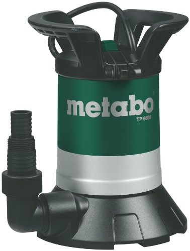 Metabo TP6600S - Bomba sumergible (250 W, 230 V, 50 Hz) Comparativa bombas sumergibles aguas limpias