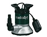 Metabo TPF 7000 S - Bomba sumergible para agua limpia Comparativa bombas sumergibles aguas limpias