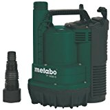 Metabo TP 12000 SI - Bomba sumergible para agua limpia Comparativa bombas sumergibles aguas limpias